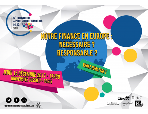Rencontres financieres internationales paris europlace