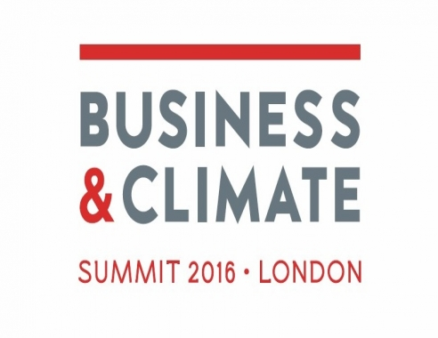 Logo Business& Climate Summit 2016